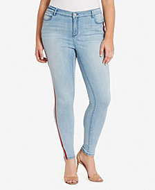 Skinnygirl Women's Regular Skinny Embellishment Jeans