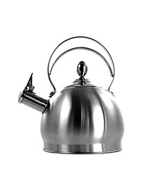 2.8 Liter Round Stovetop Whistling Kettle in Brushed
