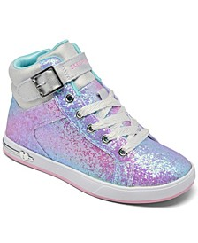 Little Girls Shoutouts - Sparkle on Top Casual Sneakers from Finish Line