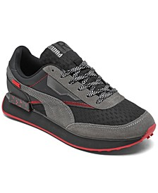 Big Boys Future Rider AM Casual Sneakers from Finish Line