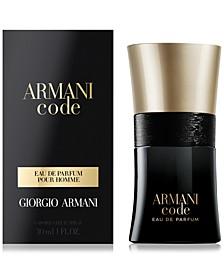 Armani Code Eau de Parfum Spray, 1-oz.