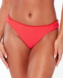 Tab-Side Hipster Bikini Bottoms, Created for Macy's