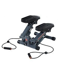Cardio Stair Stepper with Adjustable Resistance Bands and MyCloudFitness App