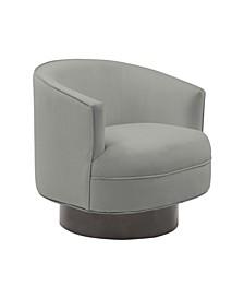 Stella Velvet Swivel Chair