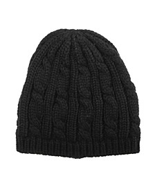 Women's Cable Knit Cloche Hat