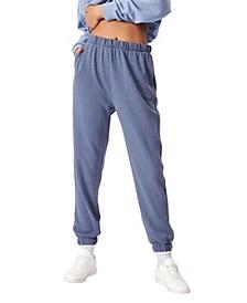 Women's High Waist Sweat Pants