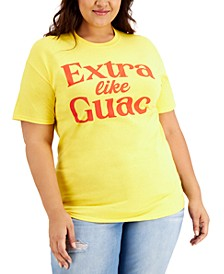 Plus Size Extra Like Quac Graphic T-Shirt