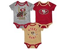 San Francisco 49ers Newborn Champ 3-Piece Set