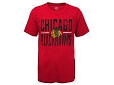 Kids Chicago Blackhawks Hustle T-Shirt