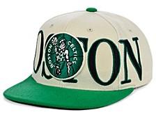 Boston Celtics Hardwood Classic Winners Circle Snapback Cap