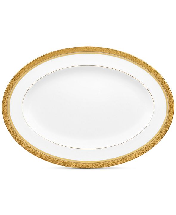 Noritake Summit Gold Oval Platter