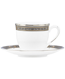 Lenox Vintage Jewel Espresso Cup and Saucer Set