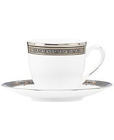 Lenox Vintage Jewel Espresso Cup and Saucer Set