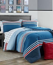 Clermont 3 Piece Full/Queen Comforter Set