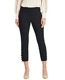Straight-Leg Cropped Pants, Created for Macy's