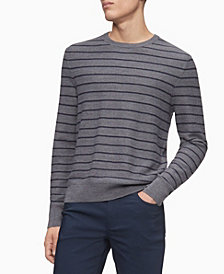Calvin Klein Merino Striped Sweater