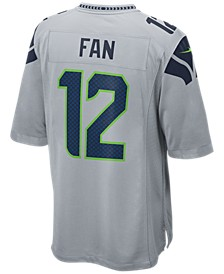 Men's Twelfth Man Seattle Seahawks Game Jersey