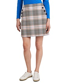 Hazel Plaid Skirt, Created for Macy's