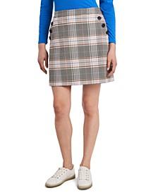 Hazel Plaid Skirt, Created for Macy's
