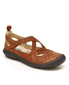 Women's Nicole Casual Mary Jane Flats
