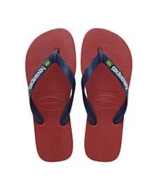 Kids Brazil Logo Flip Flop Sandal