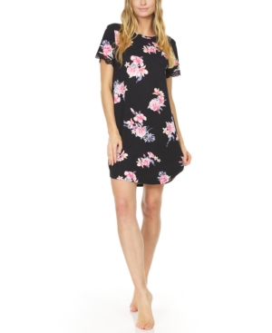 Annette Floral-Print Nightgown