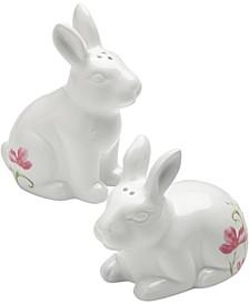 Easter Figural Bunny Salt & Pepper Set, Created for Macy's