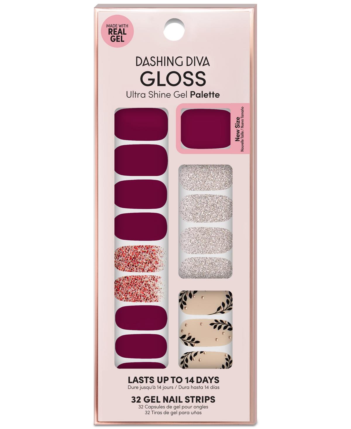 Dashing Diva Gloss Ultra Shine Gel Palette - Bordeaux Beauty