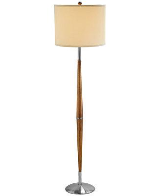 adesso hudson floor lamp lighting lamps for the home macy 39 s. Black Bedroom Furniture Sets. Home Design Ideas