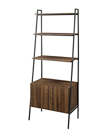 "72"" Industrial Ladder Bookcase"