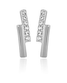 Women's Crystal Bar Earring