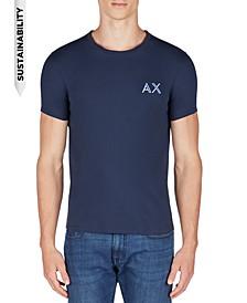 Men's Slim-Fit Double Logo T-Shirt