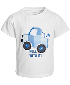 Baby Boys Roll With It Cotton T-Shirt, Created for Macy's