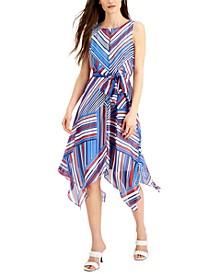 INC Printed Chiffon Midi Dress, Created for Macy's