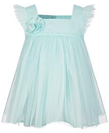Baby Girls Rosette Dress, Created for Macy's