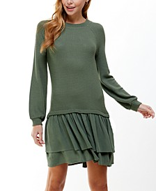 Juniors' Layered-Look Dress