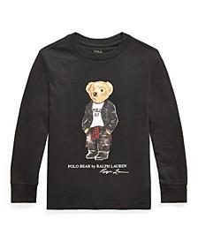 Toddler Boys Moto Bear Jersey Tee