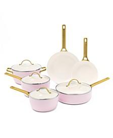 Padova Reserve 10-Pc. Ceramic Nonstick Cookware Set