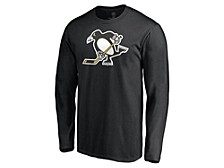 Pittsburgh Penguins Men's Special Edition Logo Long Sleeve T-Shirt