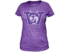 Washington Huskies Women's Vault Logo Tri-blend T-Shirt