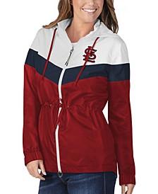 St. Louis Cardinals Women's Stadium Lightweight Jacket