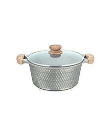 10-Qt. Cast Aluminum Covered Casserole Dish
