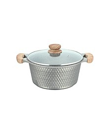 7.5-Qt. Cast Aluminum Covered Casserole Dish
