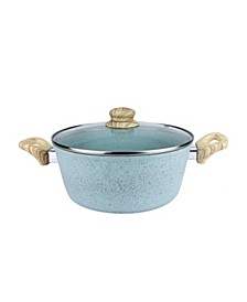 5-Qt. Speckled Dutch Oven with Glass Lid