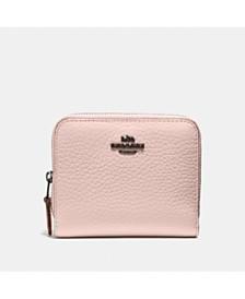 Polished Pebble Leather Billfold Wallet