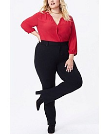 Women's Plus Size Marilyn Straight Ponte Pants