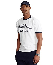 Men's Classic-Fit Embroidered Logo T-Shirt