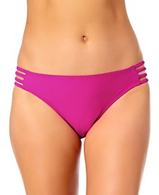 Strappy Hipster Bikini Bottoms, Created for Macy's