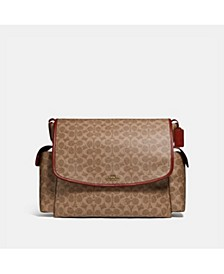 Signature Baby Messenger Bag