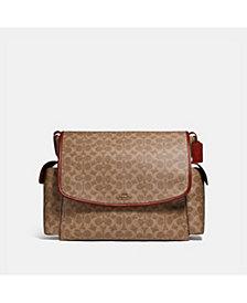 COACH Signature Baby Messenger Bag
